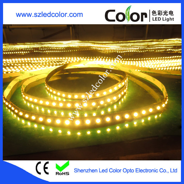 120leds/m Warm White Color Temperature 2400k 3528 Led Strip