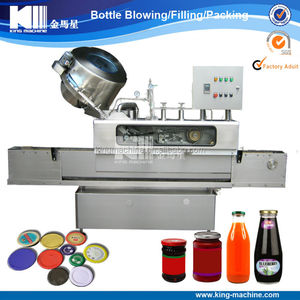 twist off vacuum capping machine