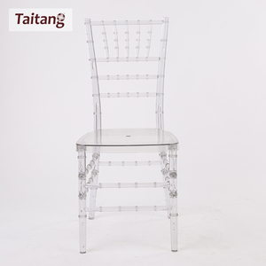 Plastic Popular Design Clear Tiffany Party chiavari Chairs