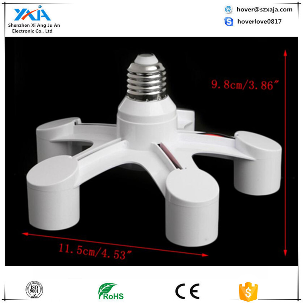 High Quality B22 to E27 lamp socket adapter