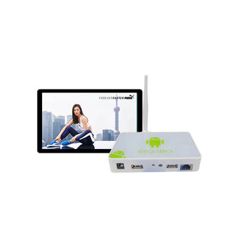Cheap Network 1080P HD Android Digital Signage Advertising Media Player Box Video Player with Software
