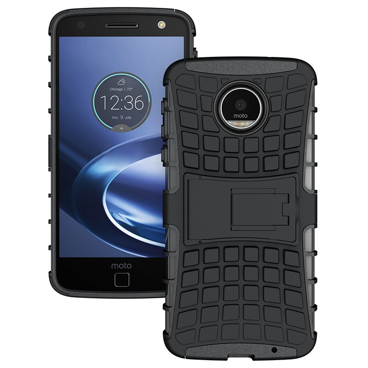 phone accessories 2016 new product dual layer heavy duty protective phone case for Moto Z Force case tpu+pc