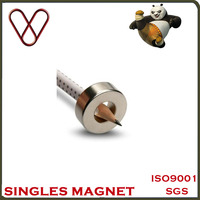 Industrial Application and Permanent Type radial magnetization ring magnet