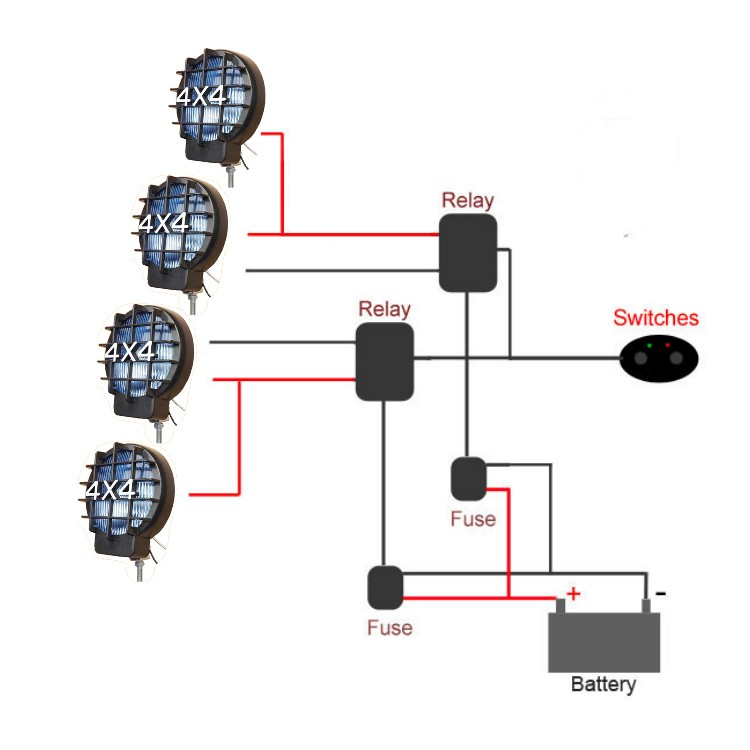 off road lights wiring diagram off image wiring hid offroad light wiring diagram jodebal com on off road lights wiring diagram