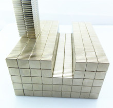 Nickel coated block ndfeb strong magnet