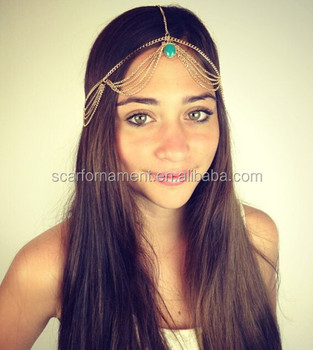 Top Design Indian Bridal Headpiece Alloy Jewelry Hair Decoration