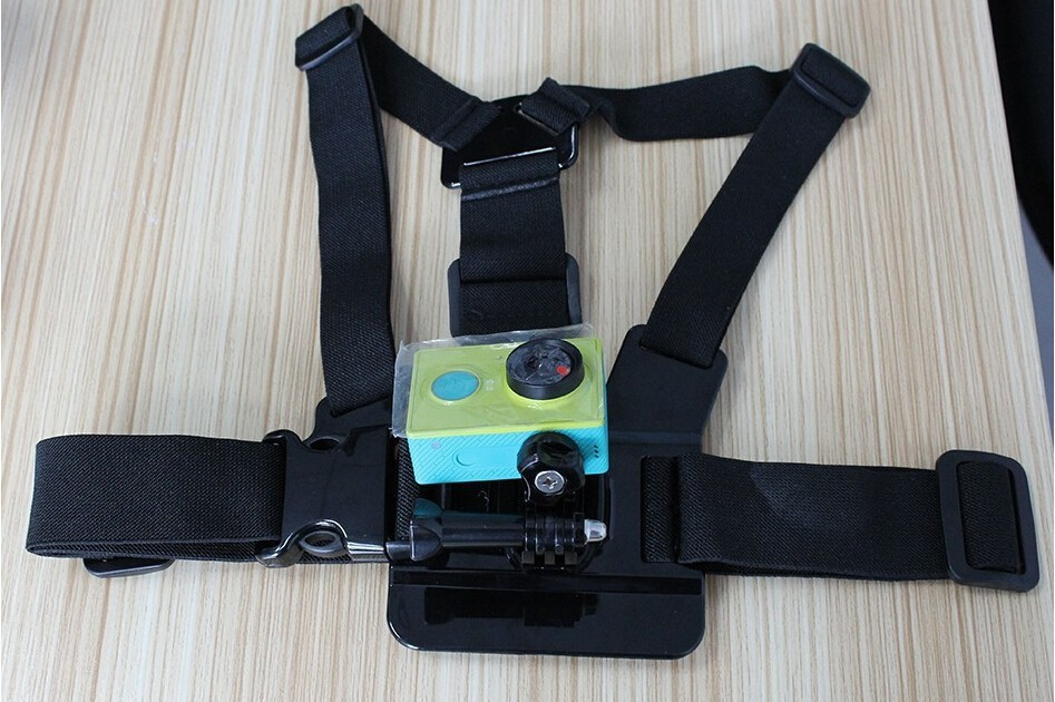 Gopro Accessories Kit Chest Belt Head + Xiaoyi Hand Mount Strap + Yi Floating