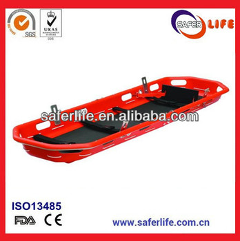 2014 Wholesale Emergency Basket Stretcher Immobilization Spine Board