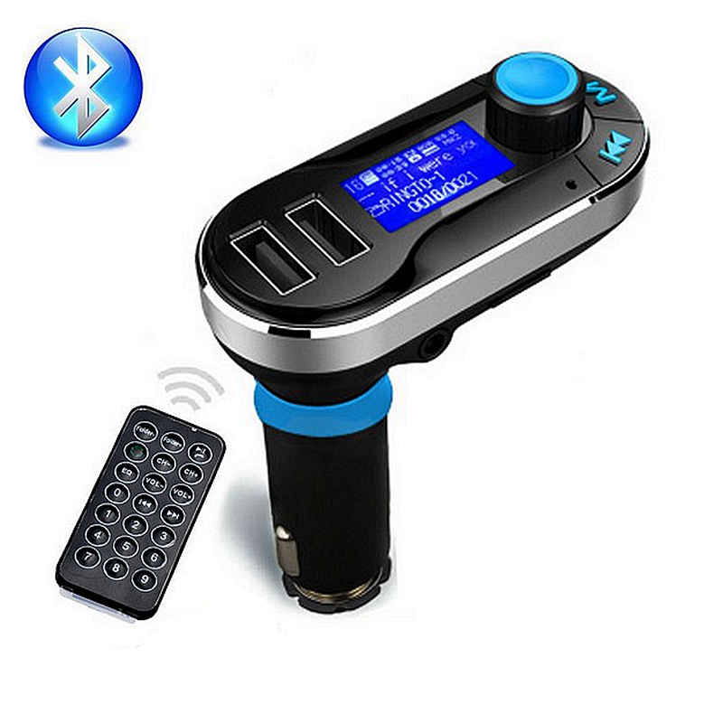 Bluetooth Handsfree Car Kit with USB Port Charger and FM Transmitter SD MP3 music Player