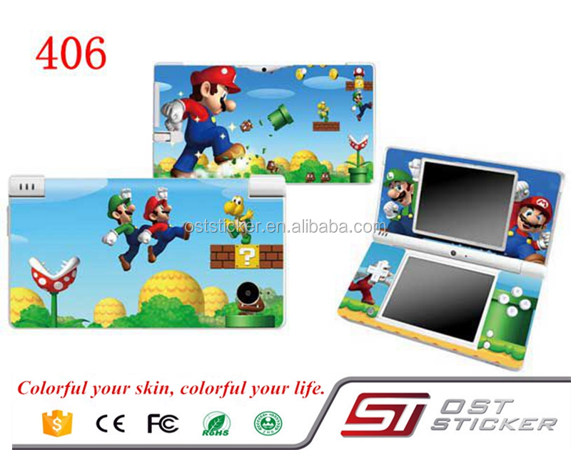 Cutey Super Mario vinyl decal for NDSI console sontroller skin sticker
