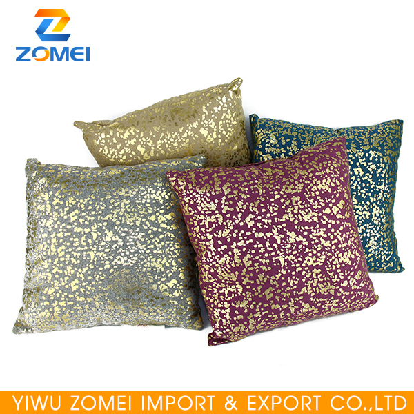 Multicolor square solid plain square pillow covers cushion