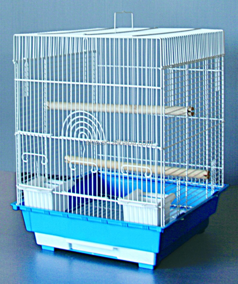 wire bird cage Flat Top Parakeet Cage