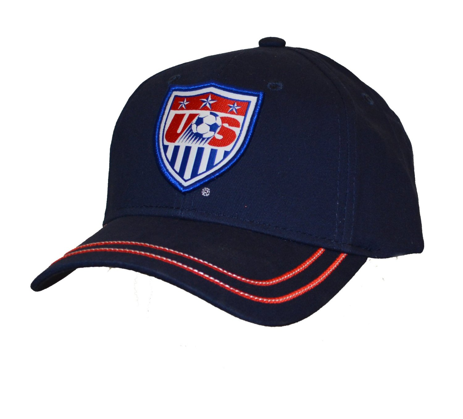 51f4f386799 Get Quotations · USA Cap Adjustable Hat Official Football Soccer  Merchandise USA