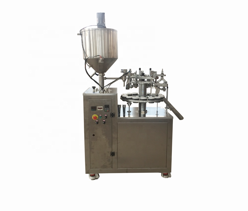 Whole Micmachinery Super Glue Filler Shoe Polish Sealing And Filling Machine Ointment Pipe Making From M Alibaba