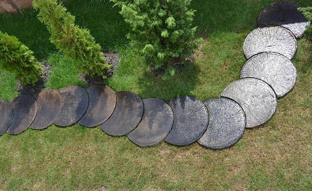 Making Decorative Stepping Stones