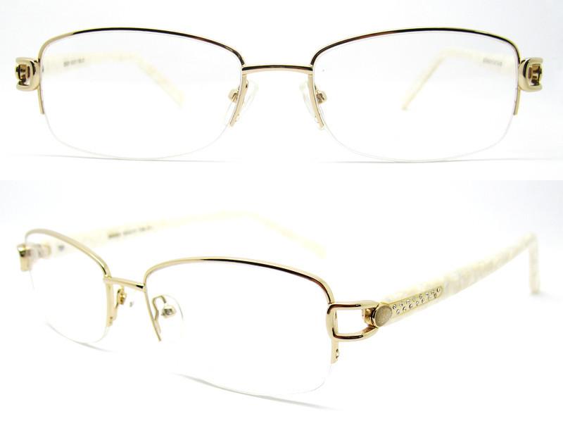 Women Metal Optical Frame China Wholesale Halfrim Optical Eyeglasses ...
