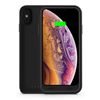 For iPhone XS MAX wireless receiver battery charger case 3500mah with 8pin connector