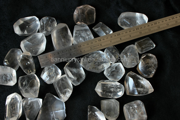 Natural Clear Quartz Crystal Polished Healing Tumbled Stones,For ...