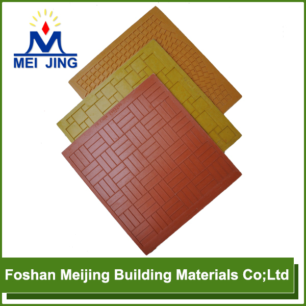 Foshan Meijing Factory resin fiber paving mosaic concrete <strong>mold</strong>
