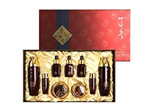 Korean Cosmetics_Yejihu Herbal Skin Care Premium Jinyul 7pc Set