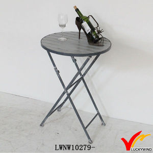 distressed coffee furniture assemble round metal tables