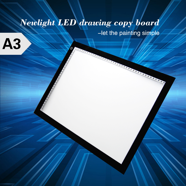 A3 Ultra Slim LED Drawing Light Box A3 LED Copy Board Tracing Light Pad For School