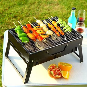 Chinese Portable Folding Charcoal Korean Bbq Grill Table For Outdoor Camping