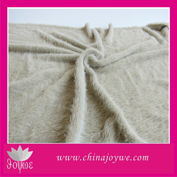 HANGZHOU Chinajoywe Acrylic Queen Size Plain Dyed Color Blanket for adult
