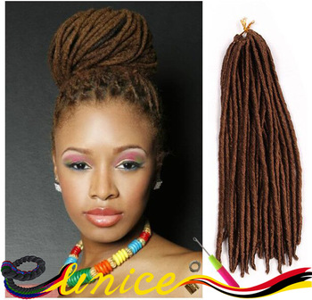 dreadlocks extensions crochet braids hair burgundy synthetic dread