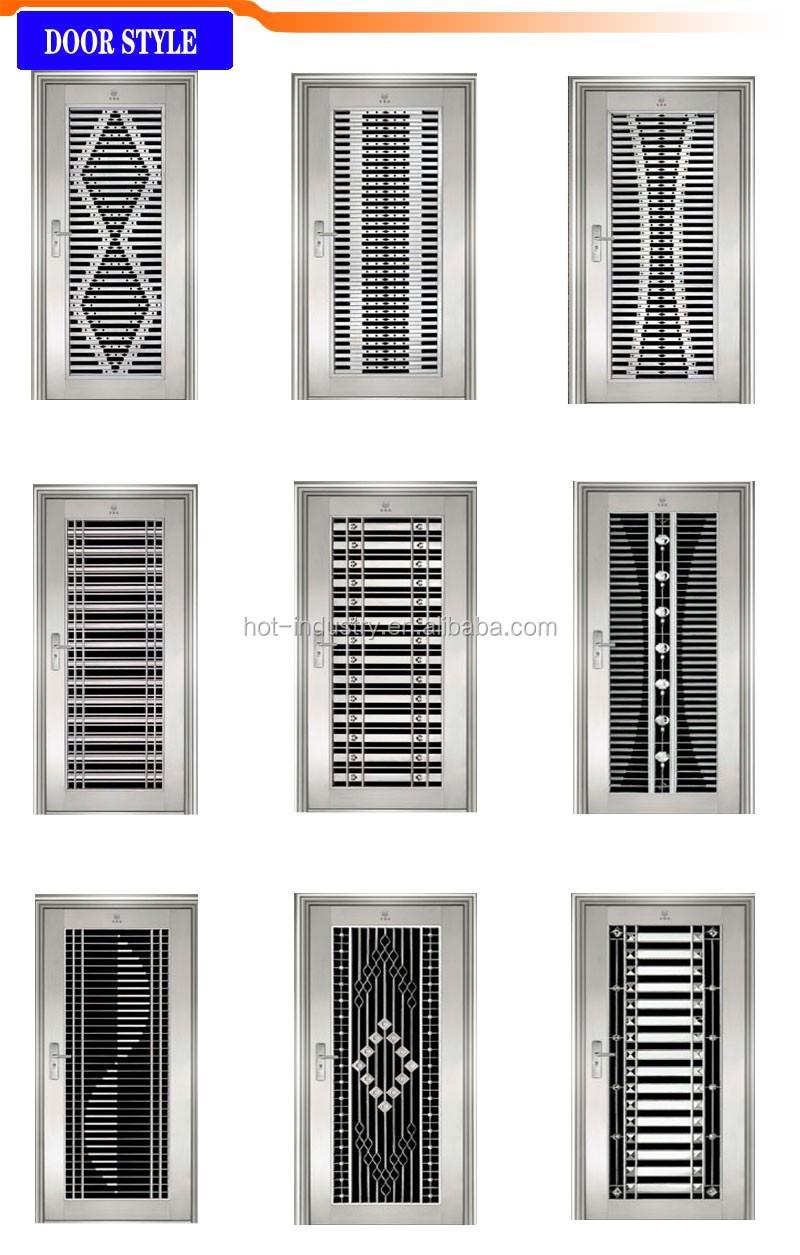 Buy Double Doors Individuality Symmetric Double Open Stainless Steel Door Top