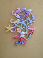 ocean theme charm pendant jewelry accessories starfish conch sea horse pendant jewelry component fashion jewelry parts