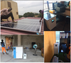 solar system portable home solar power system 1KW for remote area