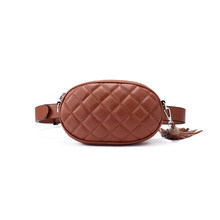 Женская модная сумка на пояс LOVEVOOK, повседнвная сумка через плечо из искусственной кожи, мягкая поясная сумка с кистями, дамская барсетка с р...(Китай)