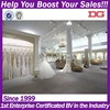 Fashion Decoration Of Wedding Dresses Shop