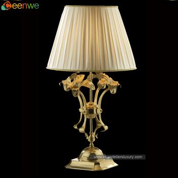 Gunstige Traditionellen Lampen 1 Lichter Tisch Messing Lampe