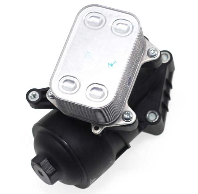 03P115389B Oil Filter HOUSING with Cooler D2P 03P115389A