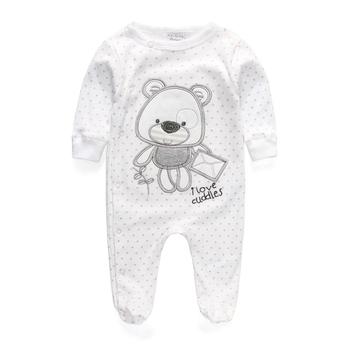 41ad50f82274 Baby Clothing 2017 New Newborn Baby Boy Girl Romper Long Sleeve ...