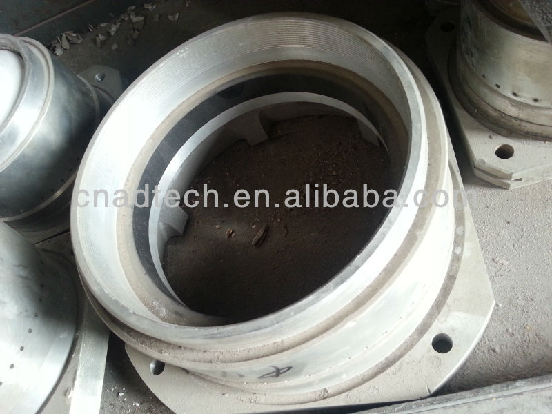 High temperature mental materials high purity graphite casting rings