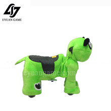 Rechargeable coin operated zippy animal rides for shopping mall