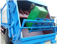 170hp Dongfeng 10m3 Rear Load Garbage Compactor Truck - Buy Rear ...