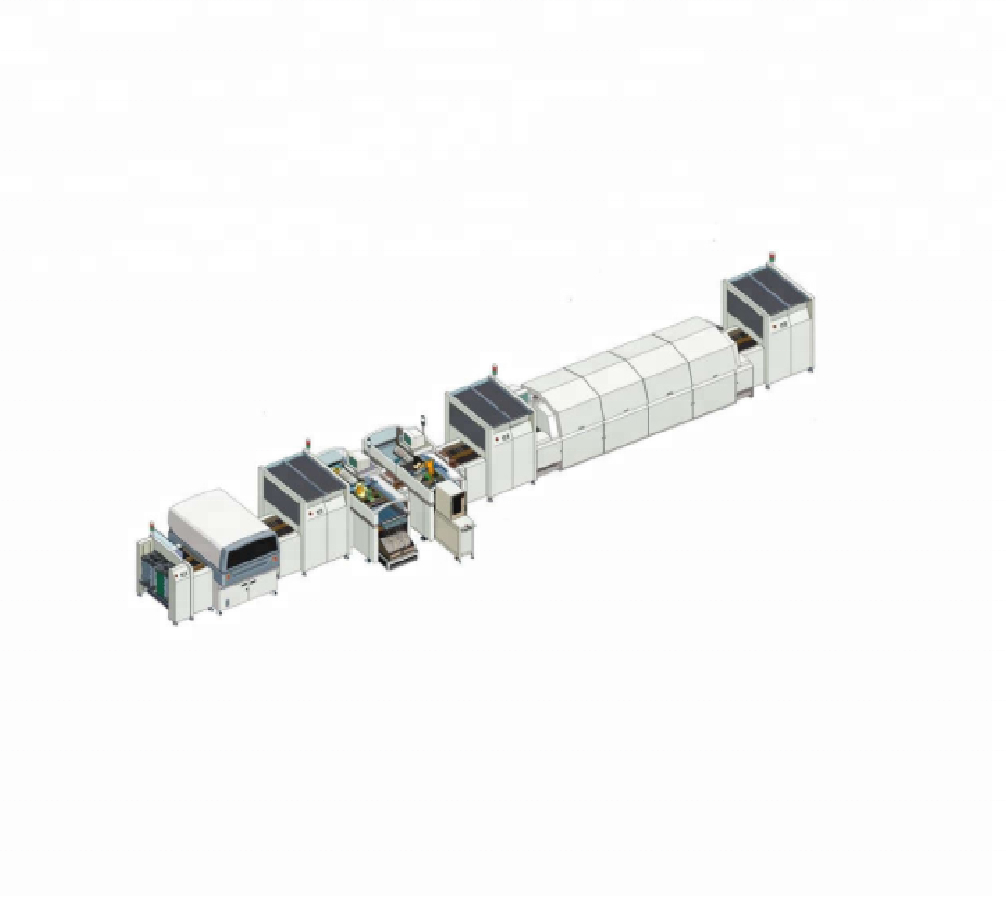 Low Cost SMD SMT Production Line with LED Pick and Place Machine 3