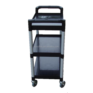 WL-320A Series Cheap Light Plastic Moving Service Room Cart