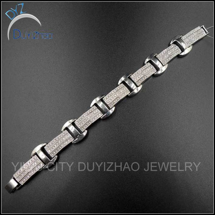 iced out hip hop bracelet wholesale jewelry