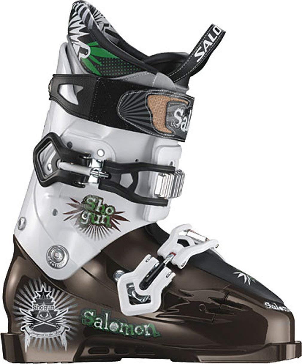 Salomon Shogun Ski Boots Brown White 00e20564969b