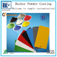 high quality thermosetting spray polyester powder coating of RAL color