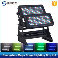 Guangzhou city color high power 192x3w rgbw waterproof outdoor light effect