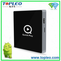 Q II Private model 5G wifi 4K android tv box with Kodi 16.1 full loaded
