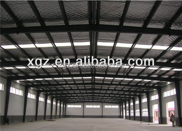 construction design large span animal feed storage building