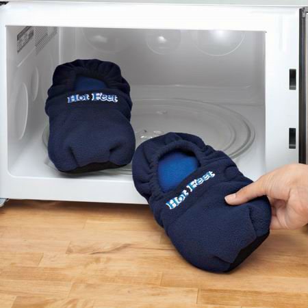 Hot Microwave Heated Slippers