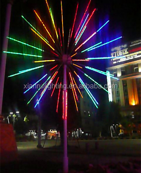 Flashing Park/square/stage Decoration Led Fireworks To Buy